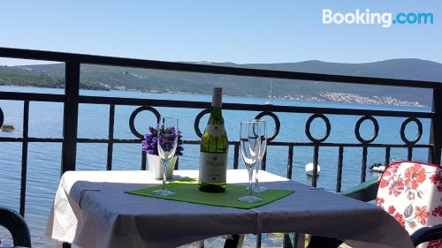 Tivat home great for six or more.