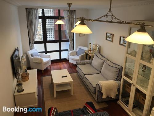 Apartamento en Luarca. Perfecto para cinco o más