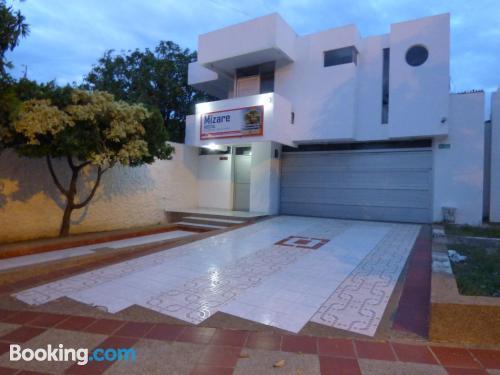 Homey studio with terrace
