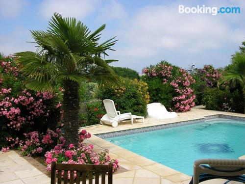 Two bedroom home in Cap d'Agde. Convenient for 6 or more