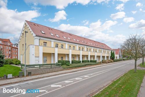 Apartamento con vistas y internet en Sonderborg. Con cuna