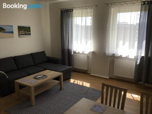 1 bedroom apartment home in Gdynia. Internet!.