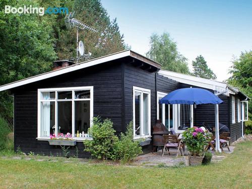 Gran apartamento de tres dormitorios en Hornbæk