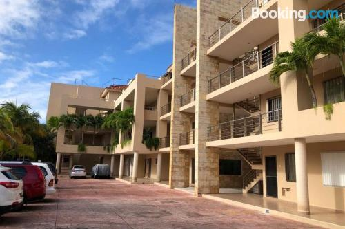 Good choice one bedroom apartment with terrace.