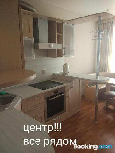 Home in Blagoveshchensk with wifi.