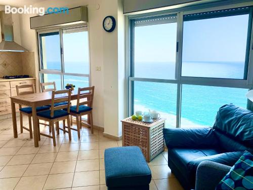Animals allowed one bedroom apartment in Bat Yam.
