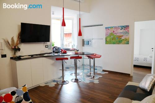 Stay cool: air-con apartment in Rome with 3 bedrooms
