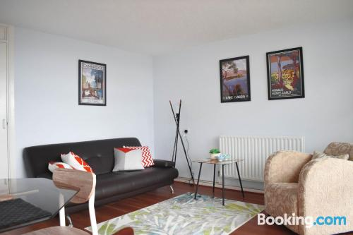 Apartment in Brighton & Hove with internet.