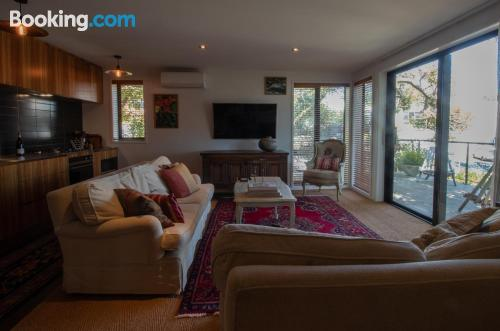Apartment in New Plymouth with terrace.