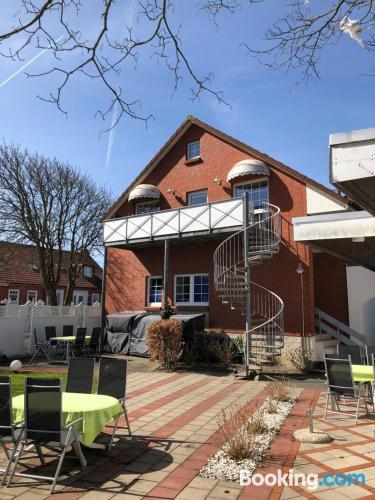 Apartamento en Norderney con terraza