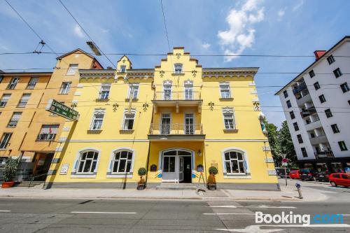 Apartamento de una habitación en Salzburgo con vistas y wifi.