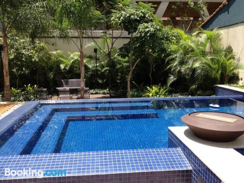 One bedroom apartment in Sao Paulo with internet and terrace