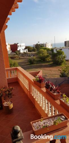 2 bedrooms home in Agadir with terrace.