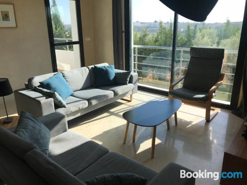 Apartment with terrace great for 6 or more.