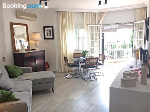 Apartamento de 50m2 en Benalmádena con piscina