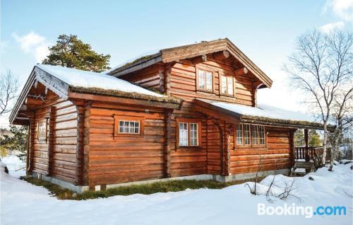 Apartamento en Hovden ideal para cinco o más