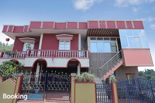 Cuco apartamento en Madikeri para dos personas