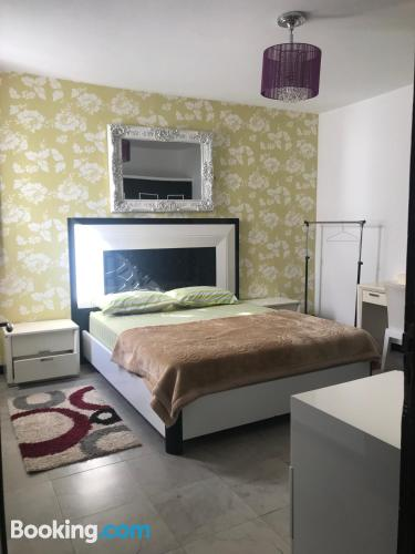 Two bedrooms home convenient for groups.