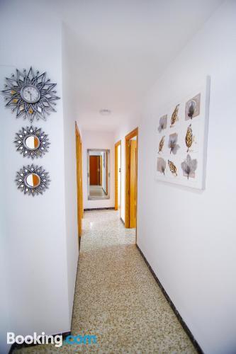 Gran apartamento en Torre del Mar con aire acondicionado