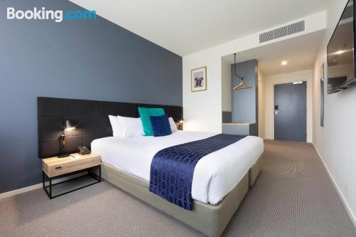Espacioso apartamento en Canberra con vistas
