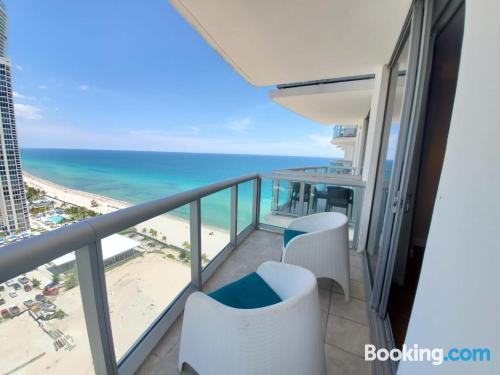 Place with terrace. Enjoy your swimming pool in Sunny Isles Beach!.