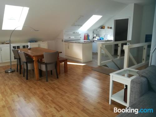 2 bedroom apartment with heating