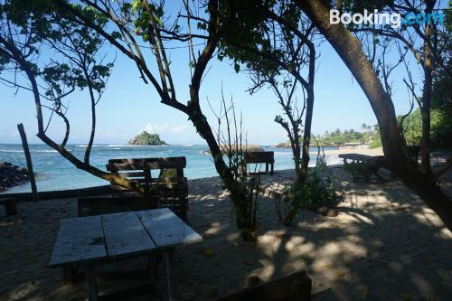 Stay cool: air apartment in Weligama. For two