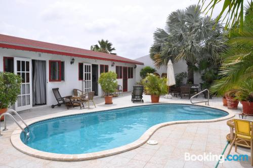 Home in Oranjestad with pool and terrace