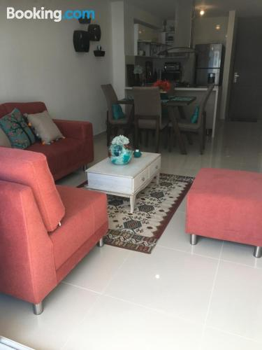 Apartment for families in Barranquilla with internet.