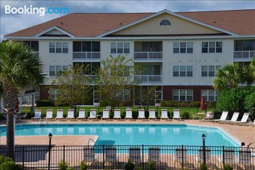 Home for six or more in Myrtle Beach. Swimming pool!