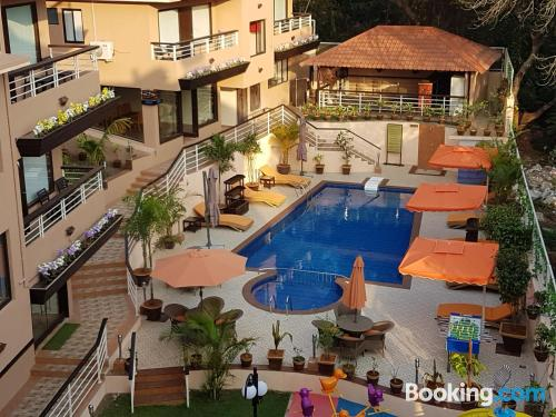 Great 1 bedroom apartment in superb location of Baga