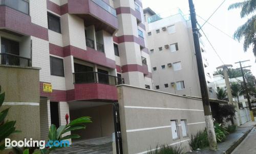 Apartamento de 100m2 en Ubatuba perfecto para familias.