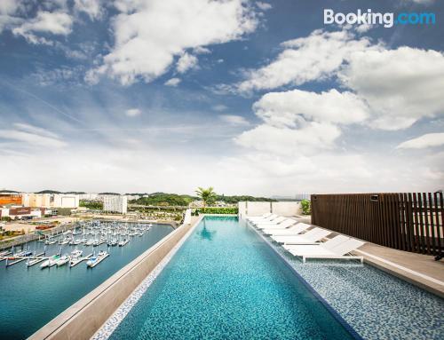 Apartamento con piscina para dos personas