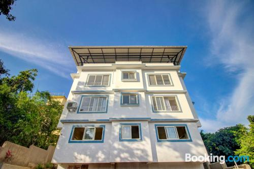 1 bedroom apartment place in Sangolda with air-con.