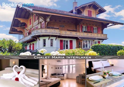Home in Interlaken. Internet!