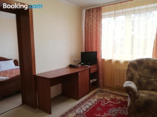 Apartamento apto para mascotas en Kobryn con aire acondicionado