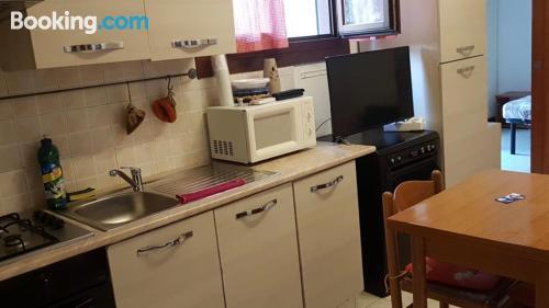 Apartamento de una habitación apto para perros. Ideal para una persona.