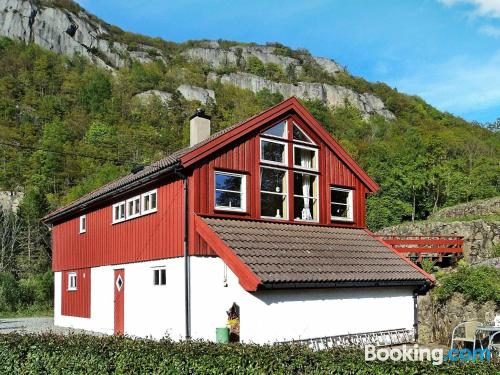 Baby friendly home in Lyngdal with 2 rooms
