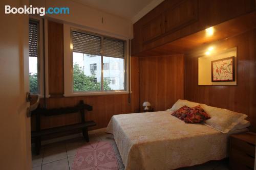 Apartamento con aire acondicionado. ¡Internet!