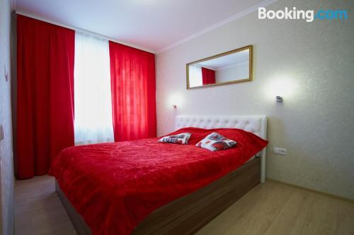 Comfortable apartment in Maladzyechna. Wifi!