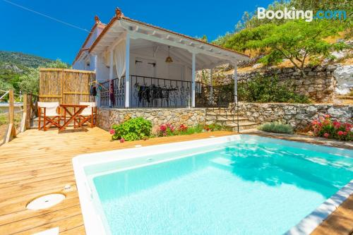 One bedroom apartment place in Alonnisos Old Town with wifi.