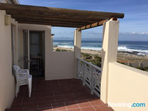 Home with terrace in Hermanus.