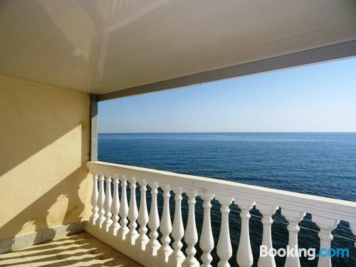 Loo is waiting! Enjoy your terrace
