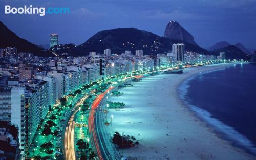Place in Rio de Janeiro. Internet!
