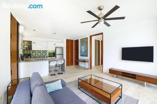 Apartamento con aire acondicionado en Tulum