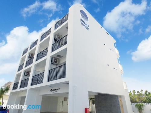 Apartamento con aire acondicionado en Chatan