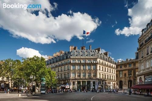 Apartment in Paris with internet.
