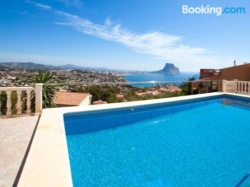 Apartment in Calpe with terrace