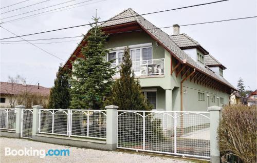 Espacioso apartamento de dos dormitorios en Balatonlelle