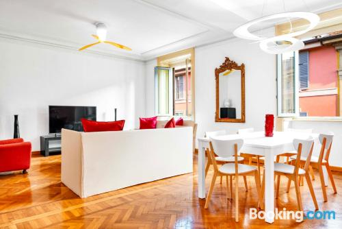 Home in Milan. Great for families